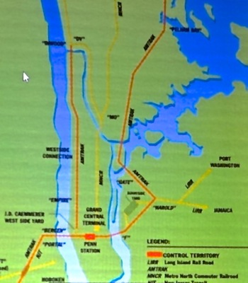 map of pennsylvania railroad system in new york city nyc
