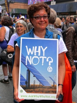 photos of un climate change march nyc 2014