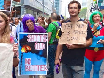 peoples climate march nyc photos